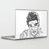 liam payne Laptop & iPad Skins featuring Liam Payne by Hollie B