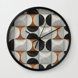 Marble game Wall Clock