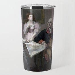George Washington And His Family Travel Mug