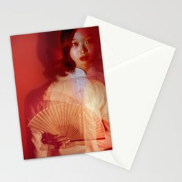 Beyond red Stationery Cards
