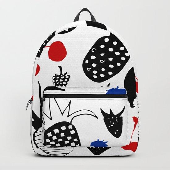 Fruit Salad white Backpack