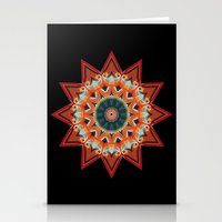 southwest Stationery Cards featuring Southwest Kaleidoscope  by North 10 Creations