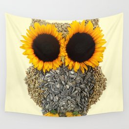 Hoot! Day Owl! Wall Tapestry