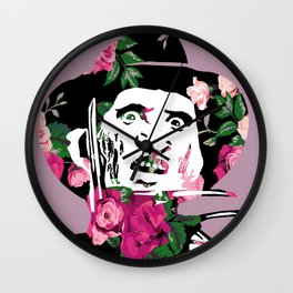 Floral Freddy Wall Clock
