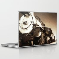 train Laptop & iPad Skins featuring Train by SteeleCat
