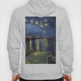 1888-Vincent van Gogh-Starry Night-72x92 Hoody