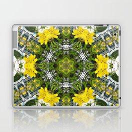 Kaleidoscope of showy St Johns Wort Laptop & iPad Skin