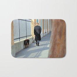 The Shadow Striper's Dog Walk Bath Mat