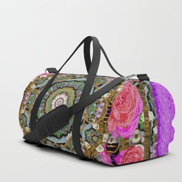 roses in a color cascade of freedom and peace Duffle Bag