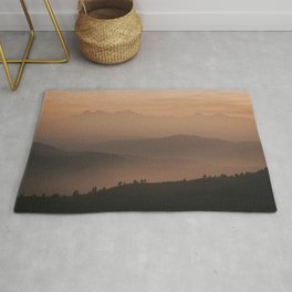 Mountain Love - Landscape and Nature Photography Rug