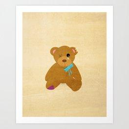Abandoned Toys   Teddy Art Print