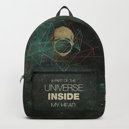 A Part Of The Universe Inside My Head Backpack