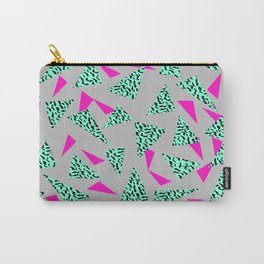 Romy - 80s, Memphis, 90s, bright, throwback, retro, revival, street, urban pattern design Carry-All Pouch