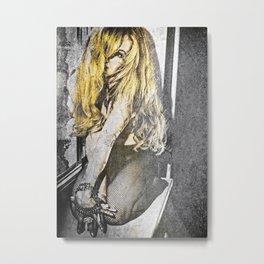 The Rock Chic Metal Print