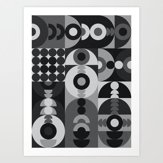 Geometry Games V / Black Palette by alisagal