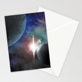 Space Age Stationery Cards