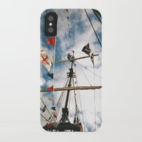 pirate ship iPhone & iPod Cases featuring Pirate Ship by For the easily distracted...