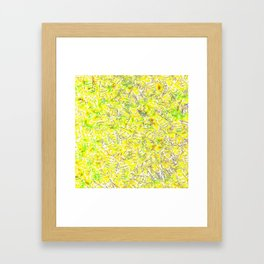 Bees In The Trap Framed Art Print
