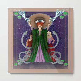 Put A Spell on You Metal Print