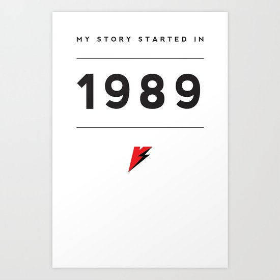 My Story Series (1989) Art Print