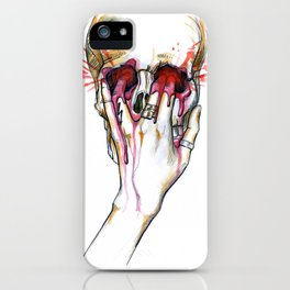 Fire Meet Gasoline iPhone Case