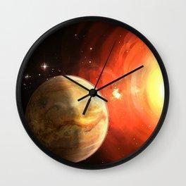 Planet Venus Wall Clock