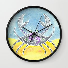 Zodiac Collection: Cancer Wall Clock
