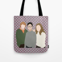 Why is it, when something happens, it is always you three? Tote Bag