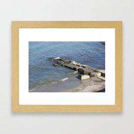 Serenity at the Lake Framed Art Print