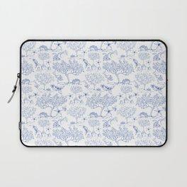 Lemony Toile de Jouy Laptop Sleeve