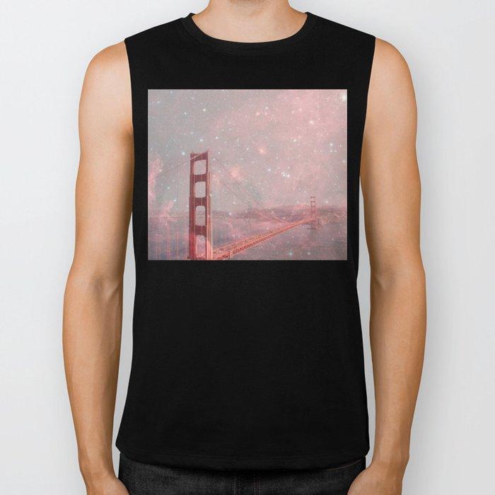 Stardust Covering San Francisco Biker Tank