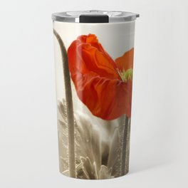 Poppy Red 0171 Travel Mug