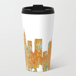 Atlanta, Georgia Skyline - Rust Travel Mug