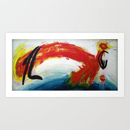 Single Whip Art Print