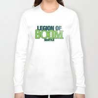 seahawks Long Sleeve T-shirts featuring LEGION OF BOOM by FanCity