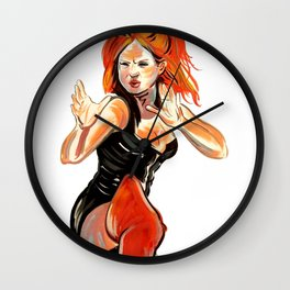 Ginger Spice Wall Clock