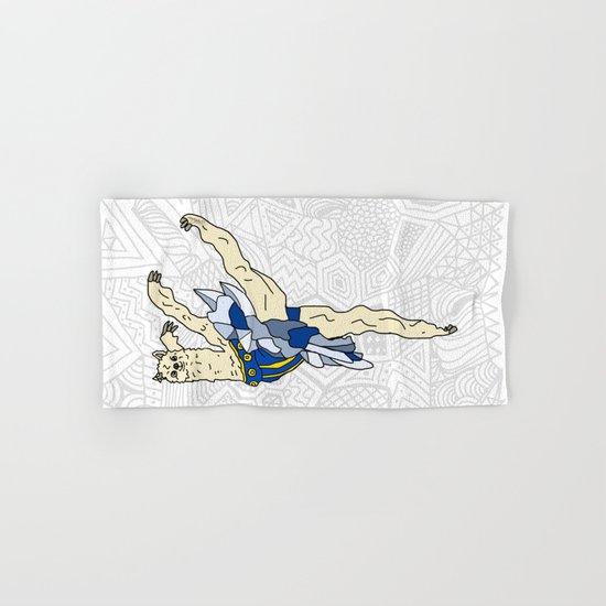Alpaca Ballerina Tutu Hand & Bath Towel