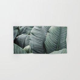Banana Leaves Tropical Art Hand & Bath Towel