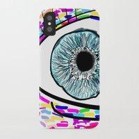 iris iPhone & iPod Cases featuring Iris by Beyond Infinite