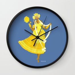 ORIXAS_ oxum Wall Clock