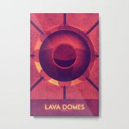 Venus - Lava Domes Metal Print