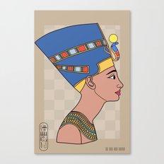 Queen Nefertiti Canvas Print
