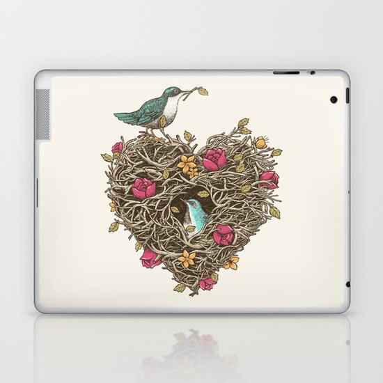Home is where the heart is Laptop & iPad Skin