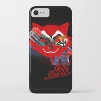 rocket raccoon iPhone & iPod Cases featuring Rocket Raccoon by Markusian