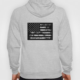 United States of America Black Flag Hoody
