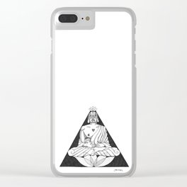 You Deserve Your Love Clear iPhone Case