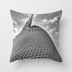 Swan Bell Tower Throw Pillow