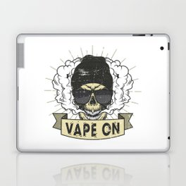 Cloud Chaser - Vaping Hipster - Vape On Swag Laptop & iPad Skin
