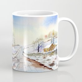 Wintery Lane Coffee Mug