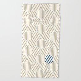 Hive Gold #397 Beach Towel